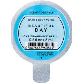 Bath & Body Works Beautiful Day Auto luchtverfrisser  6 ml Vervangende Vulling