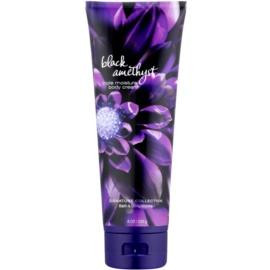 Bath & Body Works Black Amethyst crema corporal para mujer 226 g
