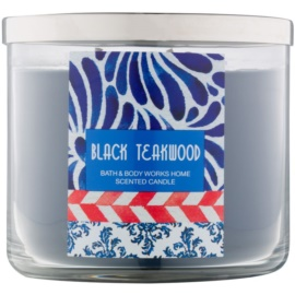 Bath & Body Works Black Teakwood illatos gyertya  411 g