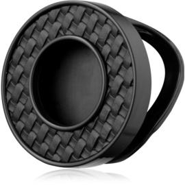 Bath & Body Works Black Leather Weave soporte para ambientador de coche   colgante