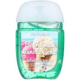 Bath & Body Works PocketBac Boardwalk Vanilla Cone antibakterielles Gel für die Hände  29 ml