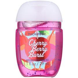 Bath & Body Works PocketBac Cherry Berry Burst Gel antibacterial pentru maini.  29 ml