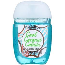 Bath & Body Works PocketBac Cool Coconut Colada antibakterielles Gel für die Hände  29 ml