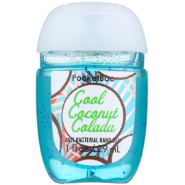 Bath & Body Works PocketBac Cool Coconut Colada antibakteriális gél kézre  29 ml