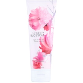 Bath & Body Works Cherry Blossom tělový krém pro ženy 226 g