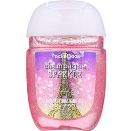Bath & Body Works PocketBac Champagne Sparkle antibakteriális gél kézre  29 ml