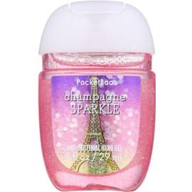 Bath & Body Works PocketBac Champagne Sparkle Gel antibacterial pentru maini.  29 ml