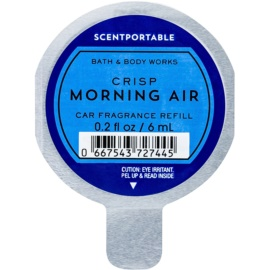 Bath & Body Works Crisp Morning Air vůně do auta 6 ml náhradní náplň