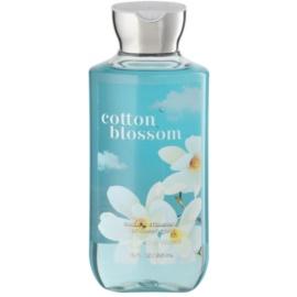 Bath & Body Works Cotton Blossom gel de duche para mulheres 295 ml