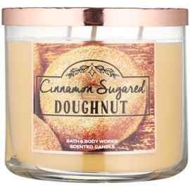 Bath & Body Works Cinnamon Sugared Donut Duftkerze  411 g