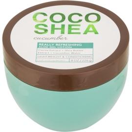 Bath & Body Works Cocoshea Cucumber gel corporel pour femme 226 g