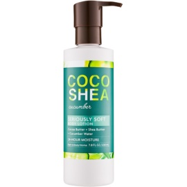 Bath & Body Works Cocoshea Cucumber Körperlotion für Damen 230 ml