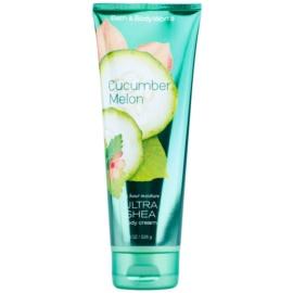 Bath & Body Works Cucumber Melon tělový krém s bambuckým máslem pro ženy 226 g