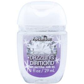 Bath & Body Works PocketBac Dazzling Diamond antibakterielles Gel für die Hände mit Glitzerteilchen  29 ml