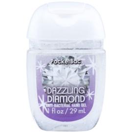 Bath & Body Works PocketBac Dazzling Diamond antibakteriális gél kézre csillámporral  29 ml