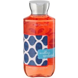 Bath & Body Works Endless Weekend sprchový gel pro ženy 295 ml