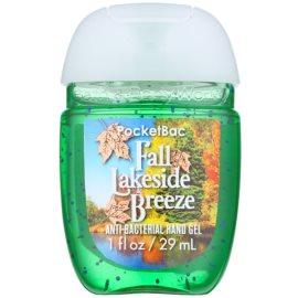 Bath & Body Works PocketBac Fall Lakeside Breeze antibakteriální gel na ruce  29 ml