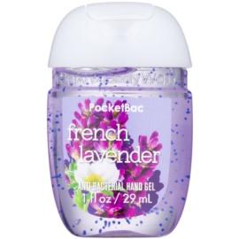 Bath & Body Works PocketBac French Lavender antibakterielles Gel für die Hände  29 ml