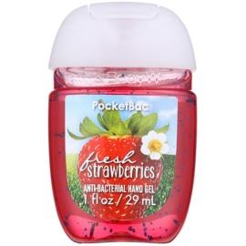 Bath & Body Works PocketBac Fresh Strawberries antibakteriálny gél na ruky  29 ml