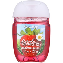Bath & Body Works PocketBac Fresh Strawberries gel antibacteriano para manos  29 ml