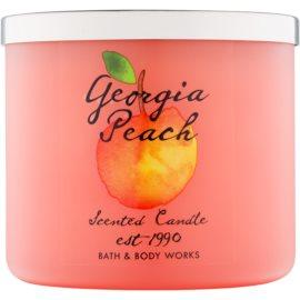 Bath & Body Works Georgia Peach vela perfumada  411 g