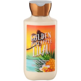 Bath & Body Works Golden Pineapple Luau Körperlotion für Damen 236 ml
