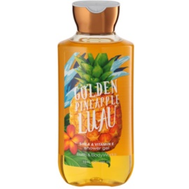Bath & Body Works Golden Pineapple Luau Duschgel für Damen 295 ml