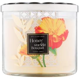 Bath & Body Works Honeysuckle Bouquet Duftkerze  411 g