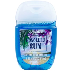 Bath & Body Works PocketBac Honolulu Sun antibakterielles Gel für die Hände  29 ml