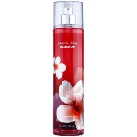Bath & Body Works Japanese Cherry Blossom testápoló spray nőknek 236 ml