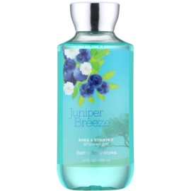Bath & Body Works Juniper Breeze Duschgel für Damen 295 ml