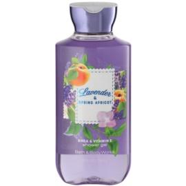 Bath & Body Works Lavander & Spring Apricot żel pod prysznic dla kobiet 295 ml