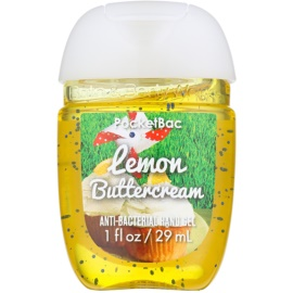 Bath & Body Works PocketBac Lemon Buttercream antibakterielles Gel für die Hände  29 ml