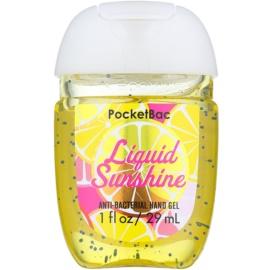 Bath & Body Works PocketBac Liquid Sunshine antibakteriális gél kézre  29 ml