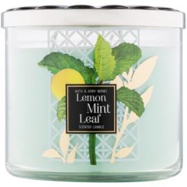 Bath & Body Works Lemon Mint Leaf świeczka zapachowa  411 g