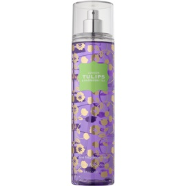 Bath & Body Works London Tulips & Raspberry Tea testápoló spray nőknek 236 ml