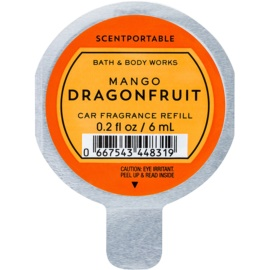 Bath & Body Works Mango Dragonfruit Auto luchtverfrisser  6 ml Vervangende Vulling