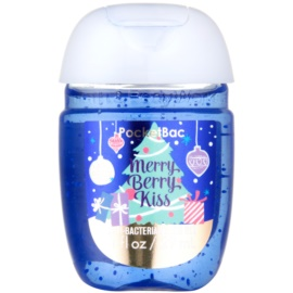 Bath & Body Works PocketBac Merry Berry Kiss antibakterielles Gel für die Hände  29 ml