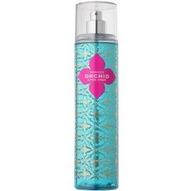 Bath & Body Works Morocco Orchid & Pink Amber tělový sprej pro ženy 236 ml