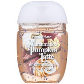 Bath & Body Works PocketBac Marshmallow Pumpkin Latte antibakterielles Gel für die Hände  29 ml
