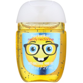 Bath & Body Works PocketBac Nerdy Nectarine antibakteriális gél kézre  29 ml