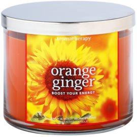 Bath & Body Works Orange Ginger vonná svíčka 411 g