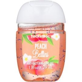 Bath & Body Works PocketBac Peach Bellini antibakterielles Gel für die Hände  29 ml