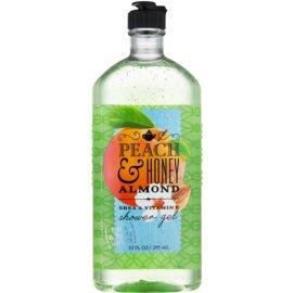 Bath & Body Works Peach & Honey Almond Duschgel für Damen 295 ml