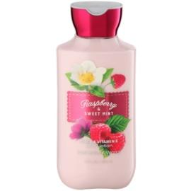 Bath & Body Works Raspberry & Sweet Mint Körperlotion für Damen 236 ml