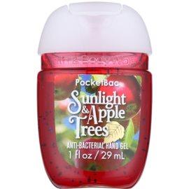 Bath & Body Works PocketBac Sunlight & Apple Trees Gel antibacterial pentru maini.  29 ml