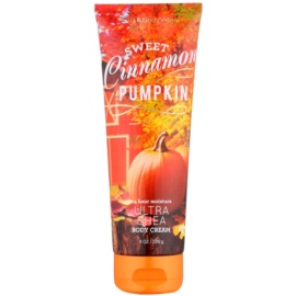Bath & Body Works Sweet Cinnamon Pumpkin Körpercreme für Damen 226 g