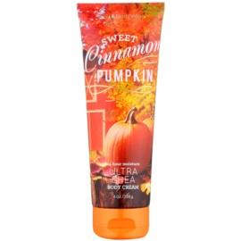 Bath & Body Works Sweet Cinnamon Pumpkin Körpercreme für Damen 226 g