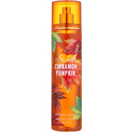 Bath & Body Works Sweet Cinnamon Pumpkin testápoló spray nőknek 236 ml