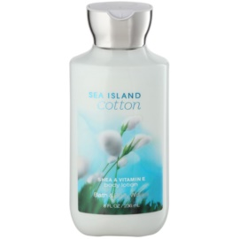 Bath & Body Works Sea Island Cotton latte corpo per donna 236 ml